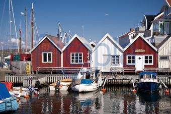 Schwedenhaus am meer  Bildagentur Pitopia - Bilddetails - Astol, Schweden (3quarks) Bild ...