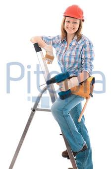 Bildagentur Pitopia Bilddetails Bauarbeiterin Alexander Raths