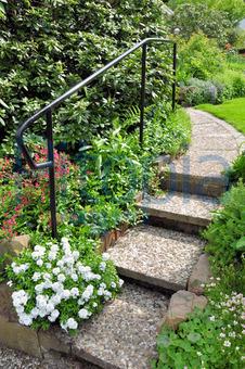 Bildagentur Pitopia Bilddetails Gartentreppe Anabpictures Bild