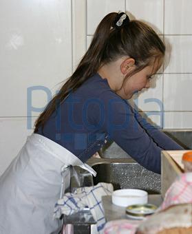bildagentur pitopia - bilddetails - küchenarbeit (a. seifert) bild ... - Küche Arbeit