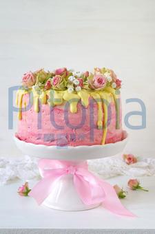 Bildagentur Pitopia Bilddetails Festliche Rosa Erdbeer