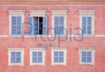 Nice Hausfassade In Siena (Anna Reinert)   Lizenzfrei (royalty Free)