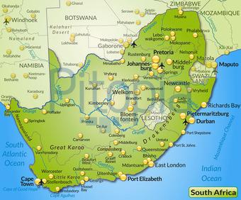Südafrika Karte.Bildagentur Pitopia Bilddetails Karte Von Suedafrika Artalis
