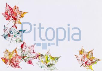 Bildagentur Pitopia Bilddetails Herbstliche Blatter Rahmen