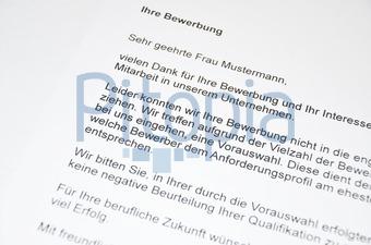 Bildagentur Pitopia Bilddetails Bewerbung Absage P Baumeister