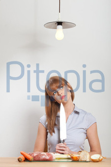 Bildagentur Pitopia Bilddetails Junge Frau in einer