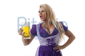 Busen dirndl Oktoberfest: Girls,