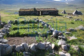 bildagentur pitopia - bilddetails - steingarten in norwegen, Hause und Garten