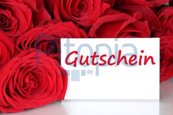 Karte Mit Gutschein Geschenk Zum Geburtstag, Valentinstag Oder (Markus  Mainka)   Lizenzfrei (