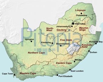 Topographische Karte Ungarn.Bildagentur Pitopia Bilddetails Sudafrika