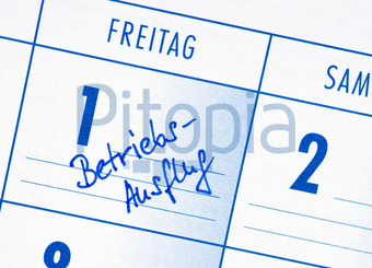 bildagentur pitopia - bilddetails - betriebsausflug - termin, Einladung