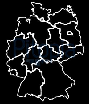 Deutschland Karte Bundesländer Schwarz Weiß.Bildagentur Pitopia Bilddetails Deutschland Karte In Schwarz