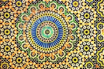 Bildagentur Pitopia Bilddetails Innenwand Einer Lehmburg Von - Mosaik fliesen marokko