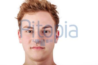 Bildagentur Pitopia Bilddetails Frontal Portrait Of A Young Man