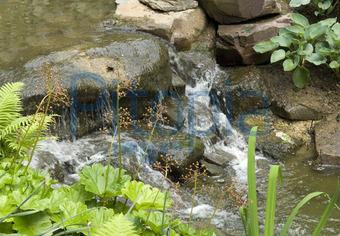 gartenteich mit wasserlauf – rekem, Garten Ideen