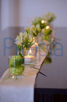 Blumen Tischdeko Im Glas