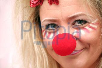 Bildagentur Pitopia Bilddetails Blonde Frau Mit Roter