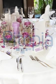 Bildagentur Pitopia Bilddetails Moderne Tischdekoration Mit