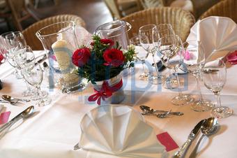Bildagentur Pitopia Bilddetails Elegante Tischdekoration