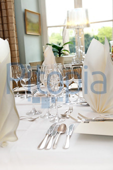 Bildagentur Pitopia Bilddetails Elegante Tischdeko Im Restaurant
