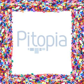 Bildagentur Pitopia Bilddetails Rahmen Aus Konfetti Weisser
