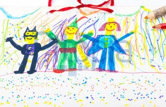 Bildagentur Pitopia Bilddetails Fasching Kinderzeichnung