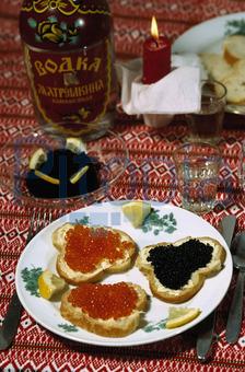 Bildagentur Pitopia Bilddetails Kaviar Snack Franz Roth Bild