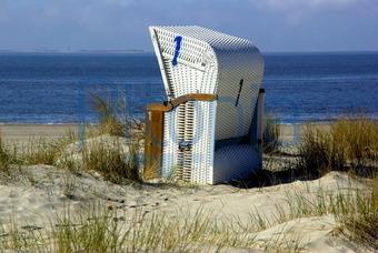 Strandkorb nordsee  Bildagentur Pitopia - Bilddetails - Strandkorb (Michael Gans) Bild ...