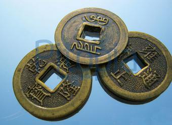Bildagentur Pitopia Bilddetails 3 Chinesische Glücksmünzen Gaby