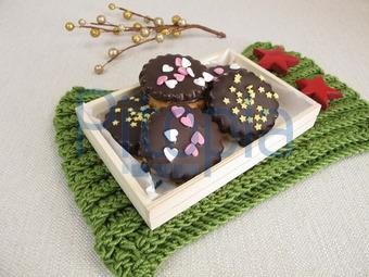 Weihnachtsplätzchen Schokoladenplätzchen.Bildagentur Pitopia Bilddetails Gefüllte Schokoladenplätzchen