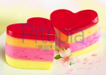 Kuchen aus wackelpudding