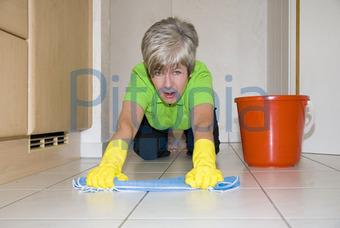 Fußboden Putzen ~ Bildagentur pitopia bilddetails putzen imaginis bild 120098