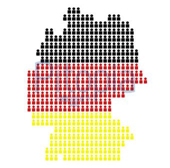Bildagentur Pitopia Bilddetails Deutschlandkarte Aus Icons