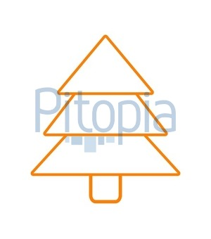 Bild Tannenbaum.Bildagentur Pitopia Bilddetails Tannenbaum Umriss Orange Kebox