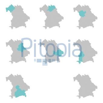 Karte Oberfranken Unterfranken Mittelfranken.Bildagentur Pitopia Bilddetails Karten Der Bayerischen
