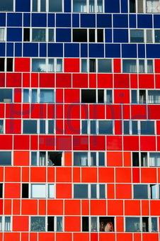 Fassade frontal  Bildagentur Pitopia - Bilddetails - Buntes Hochhaus frontal (Kai ...