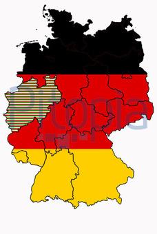 Bildagentur Pitopia Bilddetails Deutschlandkarte Mit Nordrhein