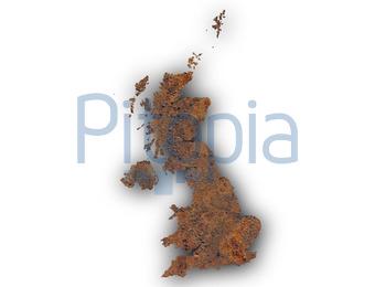 Großbritannien Karte Umriss.Bildagentur Pitopia Bilddetails Karte Von Großbritannien Auf