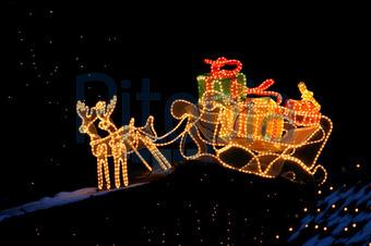 Weihnachtsbeleuchtung Schlitten.Bildagentur Pitopia Bilddetails Schlitten Mit Paketen M