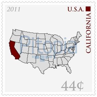 Amerika Karte Schwarz Weiß.Bildagentur Pitopia Bilddetails Usa Karte Als Briefmarke