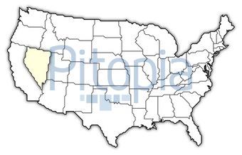 Amerika Karte Schwarz Weiß.Bildagentur Pitopia Bilddetails Usa Karte Nevada Markiert