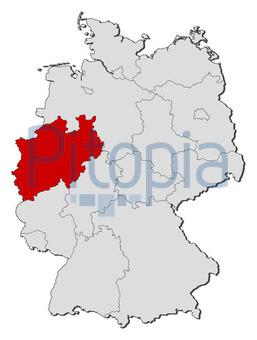 Bildagentur Pitopia Bilddetails Deutschlandkarte Nordrhein