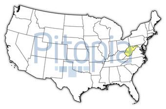 Amerika Karte Schwarz Weiß.Bildagentur Pitopia Bilddetails Usa Karte West Virginia