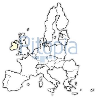 Irland Karte Europa.Bildagentur Pitopia Bilddetails Karte Der Europäischen Union