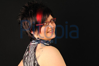 Bildagentur Pitopia Bilddetails Rote Strahne Salon Putz Bild