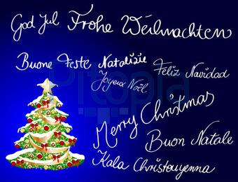 Frohe Weihnachten Verschiedene Sprachen Kostenlos.Frohe Weihnachten Verschiedene Sprachen