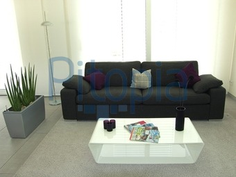 bildagentur pitopia - bilddetails - moderne wohneinrichtung ... - Moderne Wohnzimmer Sofa