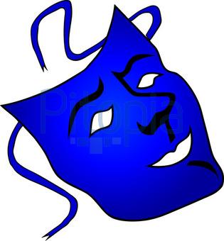 Bildagentur Pitopia Bilddetails Blaue Faschings Maske M Roder