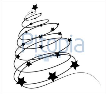 Bildagentur Pitopia Bilddetails Abstrakter Weihnachtsbaum M