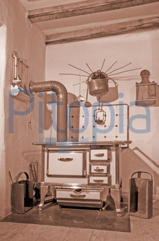 bildagentur pitopia - bilddetails - nostalgie-küche (photopeter ... - Nostalgie Küche